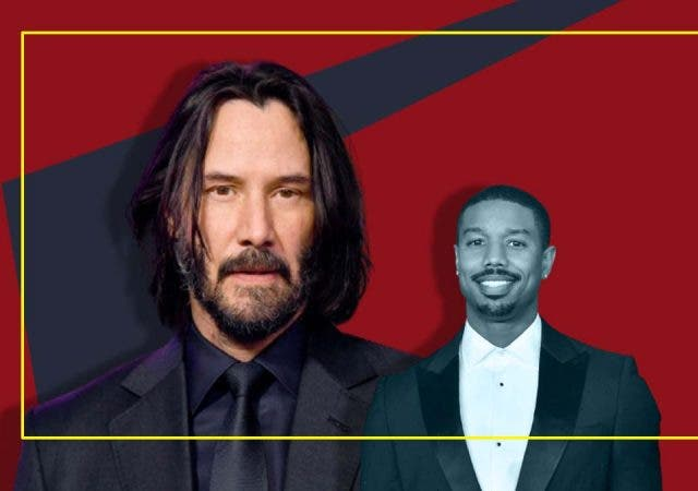 Michael B Jordan's childhood was blessed with one moment with Keanu Reeves