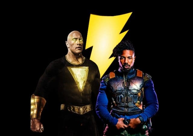 Michael B Jordan Black Adam