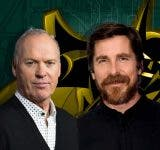 It is not Michael Keaton but Christian Bale playing Batman in 'Batman Beyond '