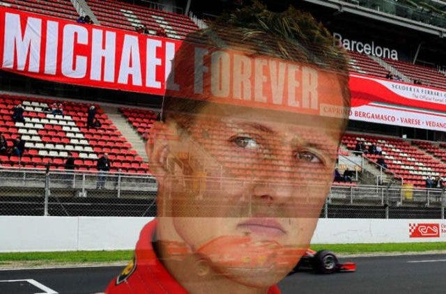 Micheal Schumacher Update Ferrari