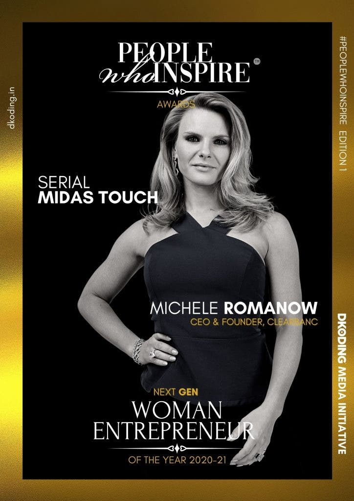 Michele Romanow People Who Inspire PWI Woman Entrepreneur of the Year Award 2020-21