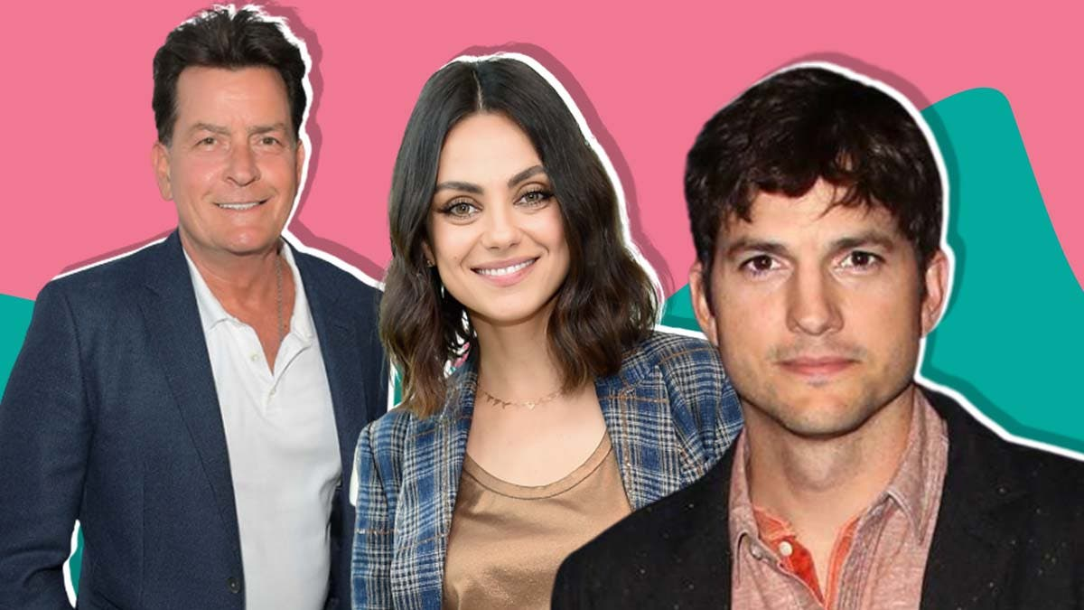 Mila Kunis and Ashton Kutcher's chemistry in Two and a half men