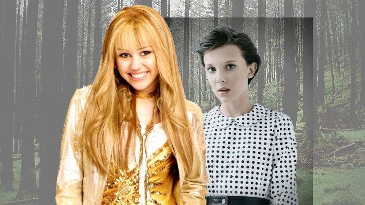 From Hannah Montana to Wrecking Ball— Does Millie Bobby Brown have the right role model?