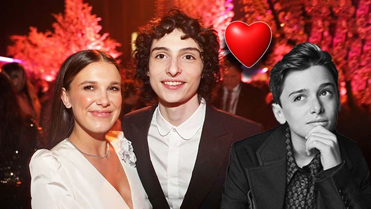 Noah Schnapp Hints That Millie Bobby Brown And Finn Wolfard Have A Crush On Each Other