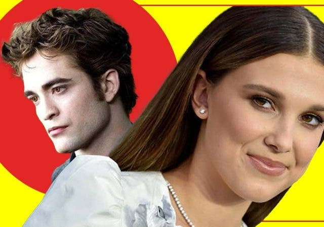 Millie Bobby Brown was actually competing with Robert Pattinson's Twilight