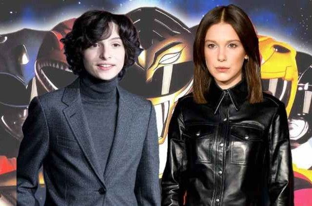 Millie Bobby Brown and Finn Wolfhard in Power Ranger reboot