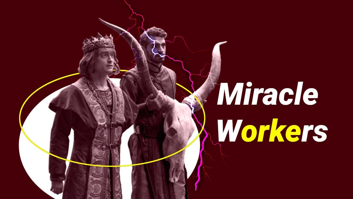 What is 'Miracle Workers' about?