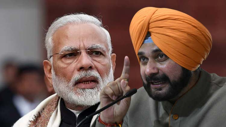 Modi-Came-As-Gangas-Son-In-2014-Will-Go-As-Rafale-Agent-In-2019-Sidhu-India-Politics-DKODING