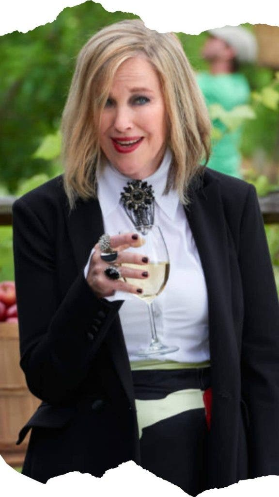 When Moira rose got drunk while filming the fruit wine