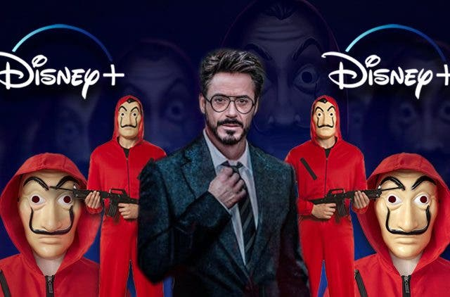 Money Heist Robert Downey Jr Professor Disney Plus DKODING