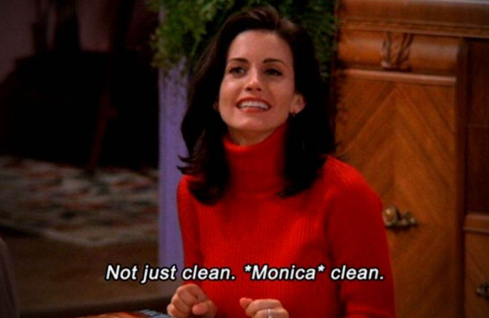 Monica Geller Cleaning Memes Trending Today DKODING