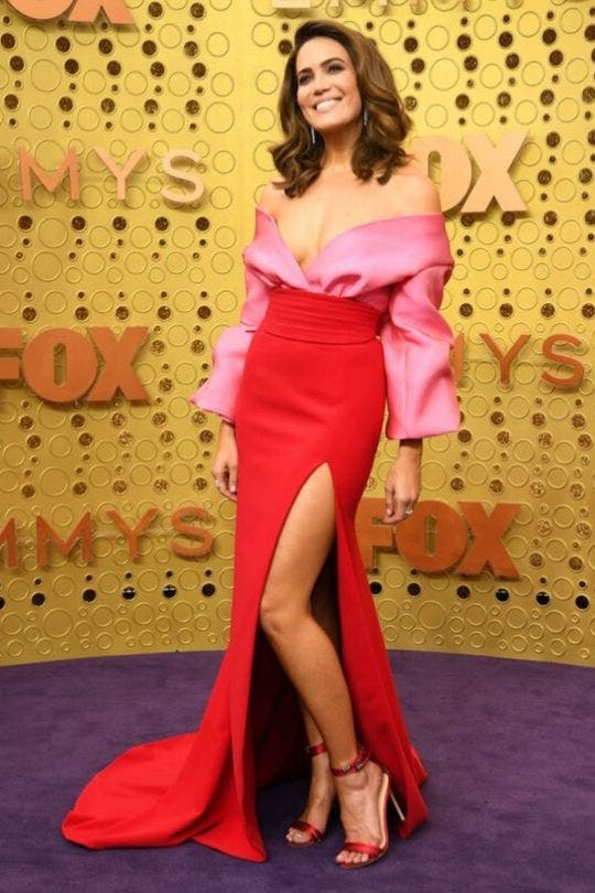 Moore-Pink-And-Red-Dress-Fashion-And-Beauty-Lifestyle-DKODING