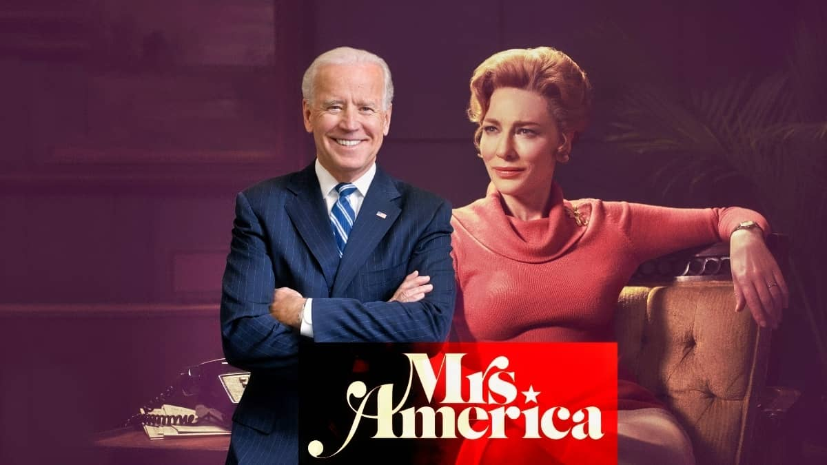 Why Biden's First Action In Office Should Be To Watch Mrs. America On Hulu
