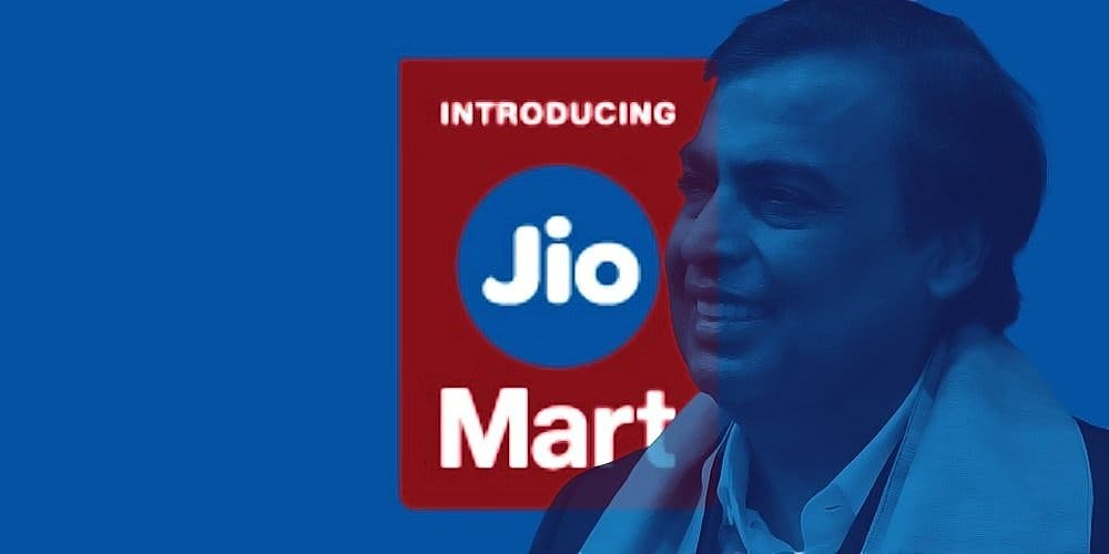 Ambani JioMart Strategy Investment