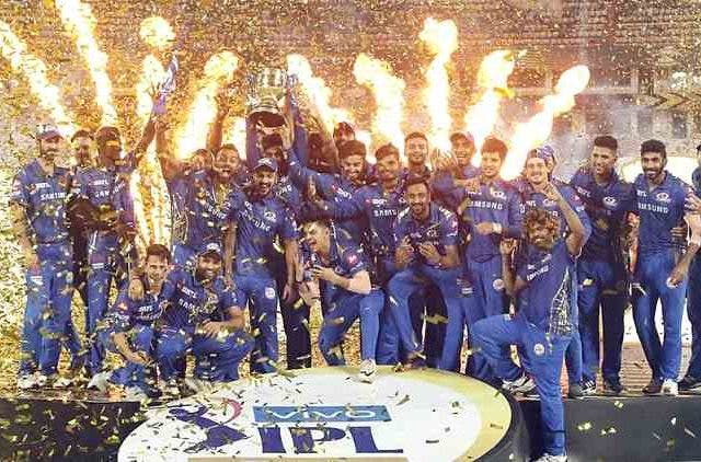 Mumbai Indians Winner Cricket Sports DKODING