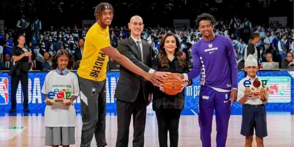 NBA-India-Nita-Ambani-Basketball-Others-Sports-DKODING