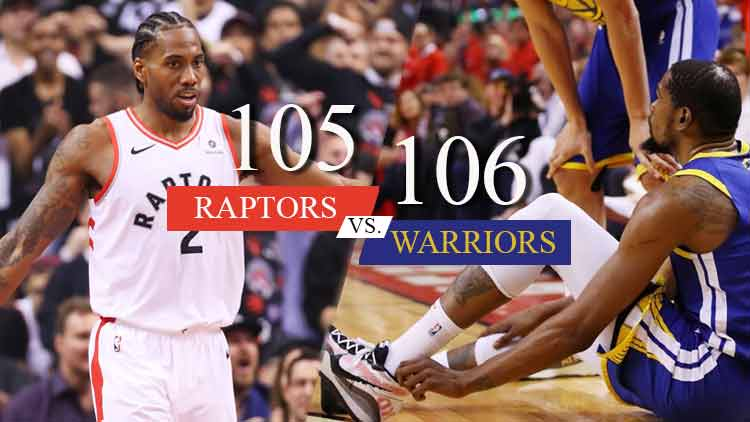 NBA Warriors vs Raptors - Sports - DKODING