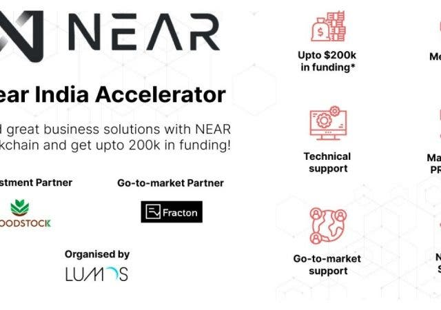 NEAR Protocol launches its first India Accelerator to strengthen the blockchain startup ecosystem in India