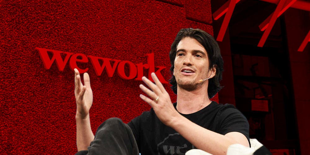 WEWork CEO adam Neumann quits