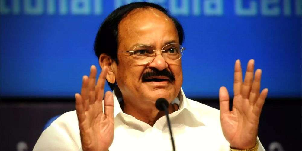Naidu-For-Code-Conduct-For-Lawmakers-India-Politics-DKODING