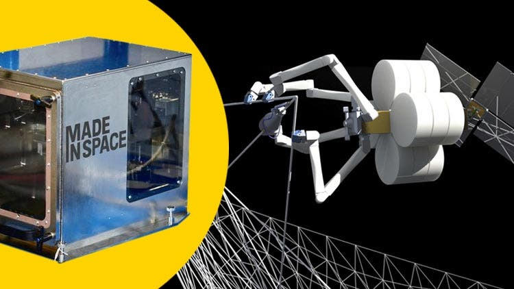 Archinauts holdup funds of $73.7 million for Nasa's 3D printer