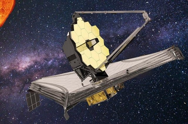 NASA James Web Space Telescope Passes First Space Configuration Test