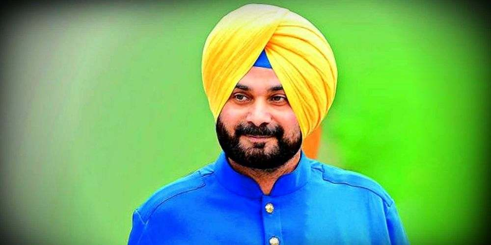 Navjot-Singh-Sidhu-Taking-Charge-Delhi-Congress-Unit-Chief-India-Politics-DKODING