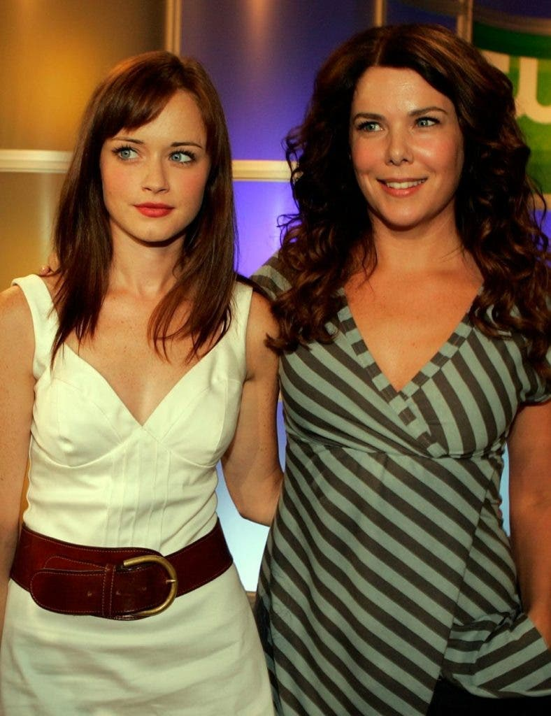 The mother daughter duo from Gilmore Girls