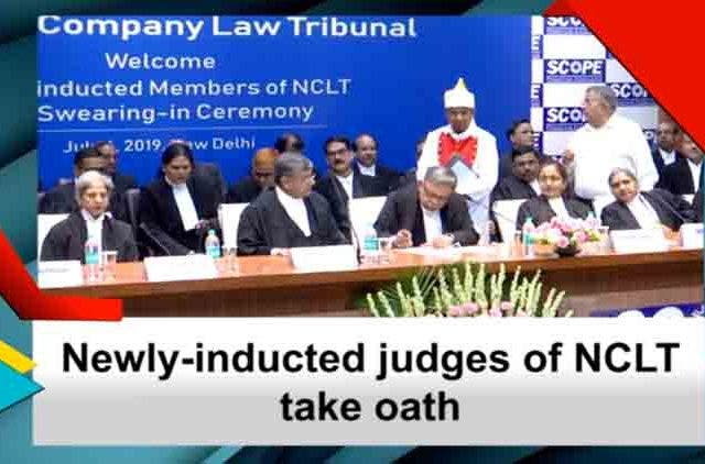 Newly-Inducted-Judges-Of-NCLT-Takes-Oath-Videos-DKODING