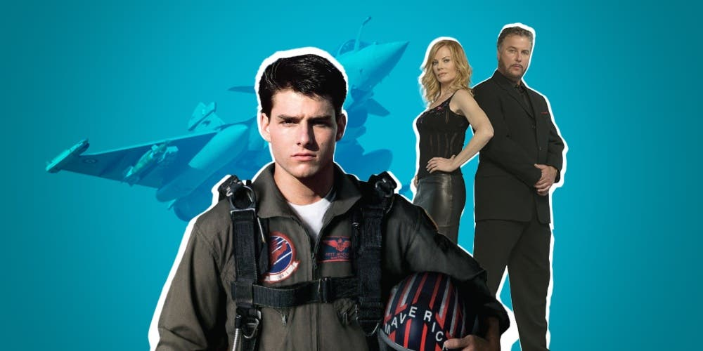 Prime Time News Coverage Turns Into Spoofs Of Top Gun And CSI