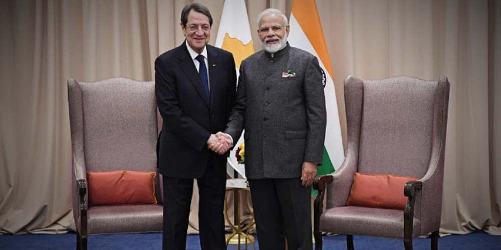 Nicos Anastasiades Meet PM Modi Global DKDOING