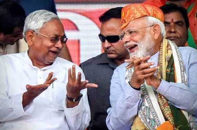 Nitish-Kumar-Narendra-Modi-Clean-Sweep-Bihar-India-Politics-DKODING