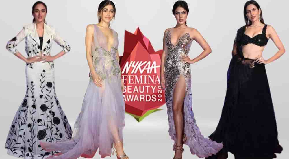 Celebs at the Nykaa Beauty Awards 2020