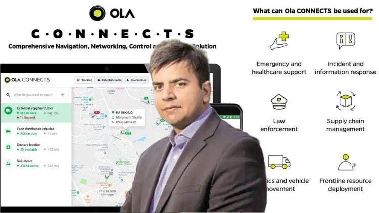Ola Joins India's COVID-19 Combat — CONNECTS Vital Supply Chains In Real-Time