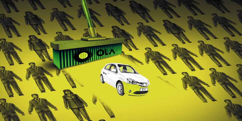 Slowdown Forces Firing — Ola Says Rightsizing