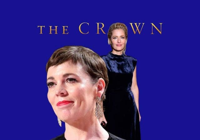 Olivia Colman face-off Gillian Anderson Crown Season 4