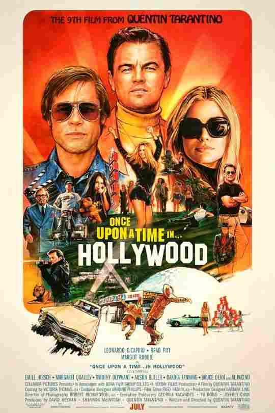 Once-Upon-A-Time-In-Hollywood-New-Poster-Hollywood-Entertainment-DKODING