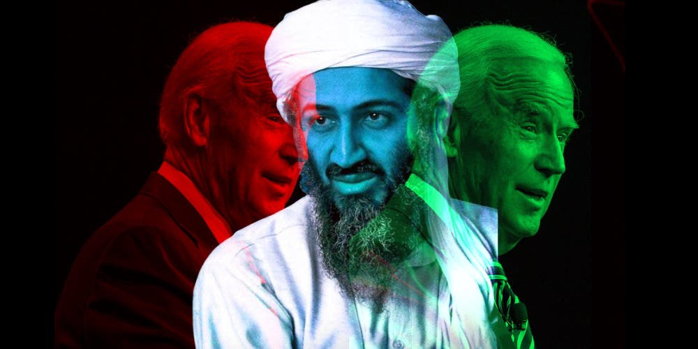 Joe Biden And Osama Bid Laden 2020 US Elections