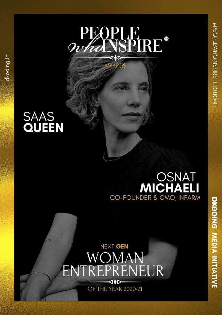Osnat Michaeli People Who Inspire PWI Woman Entrepreneur of the Year Award 2020-21