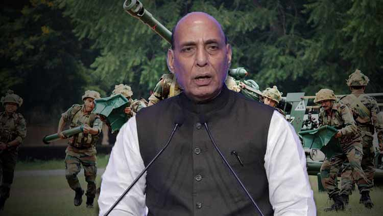 'Don't worry, our force is fully prepared', says Rajnath