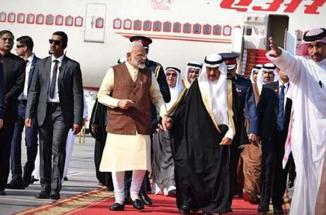PM-Modi-Arrives-Bahrain-Global-Politics-DKODING