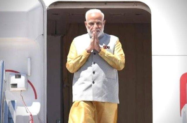 PM-Modi-Arrives-In-Bishkek-India-Politics-DKODING