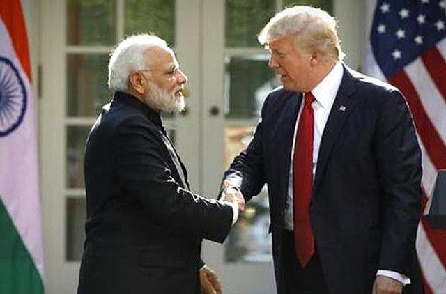 PM-Modi-Donald-Trump-Discusses-Developments-J&K-Global-Politics-DKODING