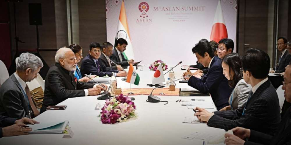 PM Modi Meets Japanese Counterpart Shinzo Abe Global DKODING