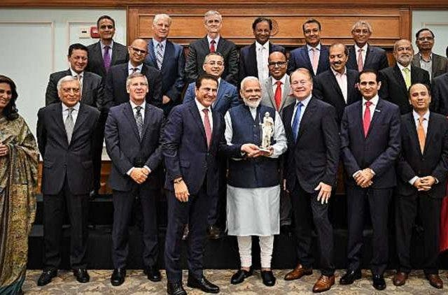 PM Modi Meets USISPF Members Global DKODING
