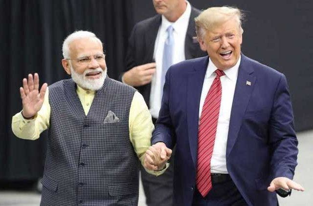 PM Modi, President Trump take lap around NRG stadium DKODING
