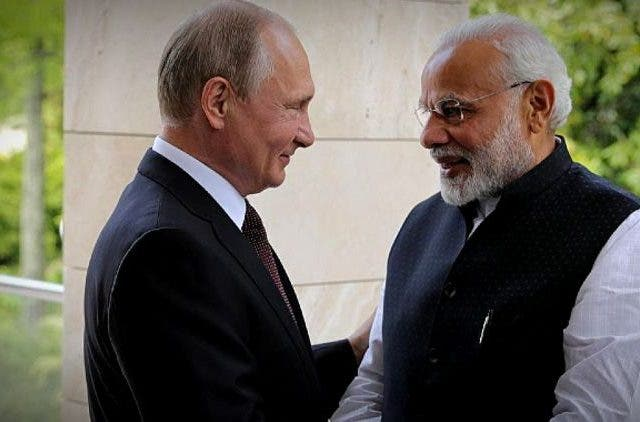 PM-Modi-Putin-Low-Cost-Equipment-Global-Politics-DKODING