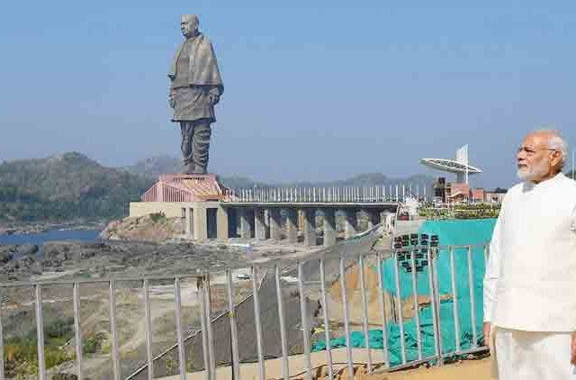 PM Modi pays floral tribute to Sardar Vallabhbhai Patel at Statue of Unity Videos DKODING