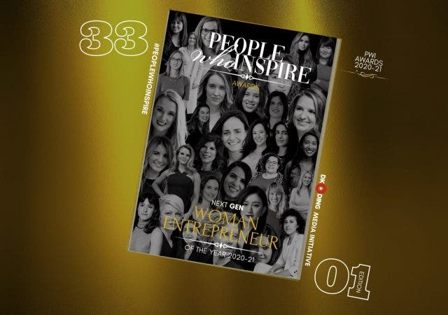 The People Who Inspire PWI Woman Entrepreneur of the Year Award 2020-21