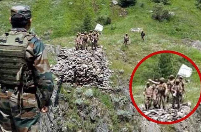 Pak-Army-Shows-White-Flag-To-Indian-Army-Videos-DKODING